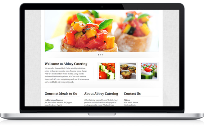 website macbook bruschetta mango catering